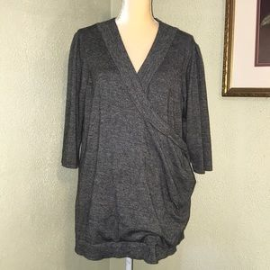Maurice's Black Stretchy Tunic Plus Size 2